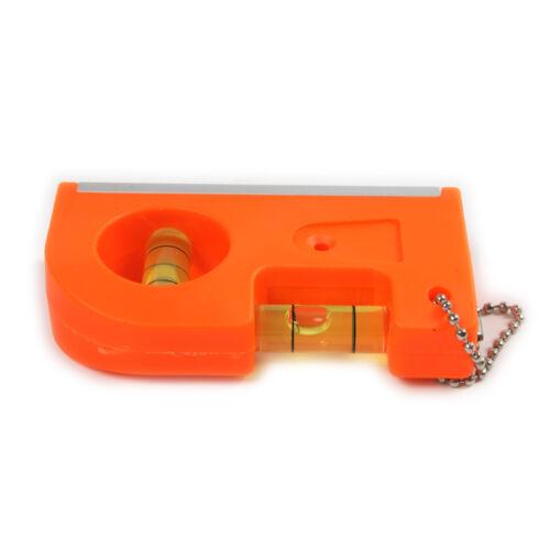 Mini porte-clés avec aimant V Stripe Bulle instrument de mesure niveau Charms NEUF