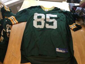 GREEN BAY PACKERS GREG JENNINGS JERSEY SIZE XL REEBOK NFL #85 | eBay