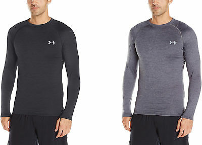 78051b85d4b7c6 Under Armour Mens 1281082 4.0 Base Layer Crew Top Black Size XXXL ...