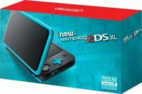 Pre-order: Nintendo 2ds Xl - Black & Turquoise Console - & Sealed