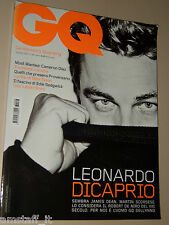 LEONARDO DICAPRIO COVER MAGAZINE GQ 2007=TALIDY TOMASI=EDIE SEDGWICK=WEICHBRODT=