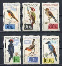 37132) CZECHOSLOVAKIA 1964 MNH** Birds 6v Scott# 1258/64