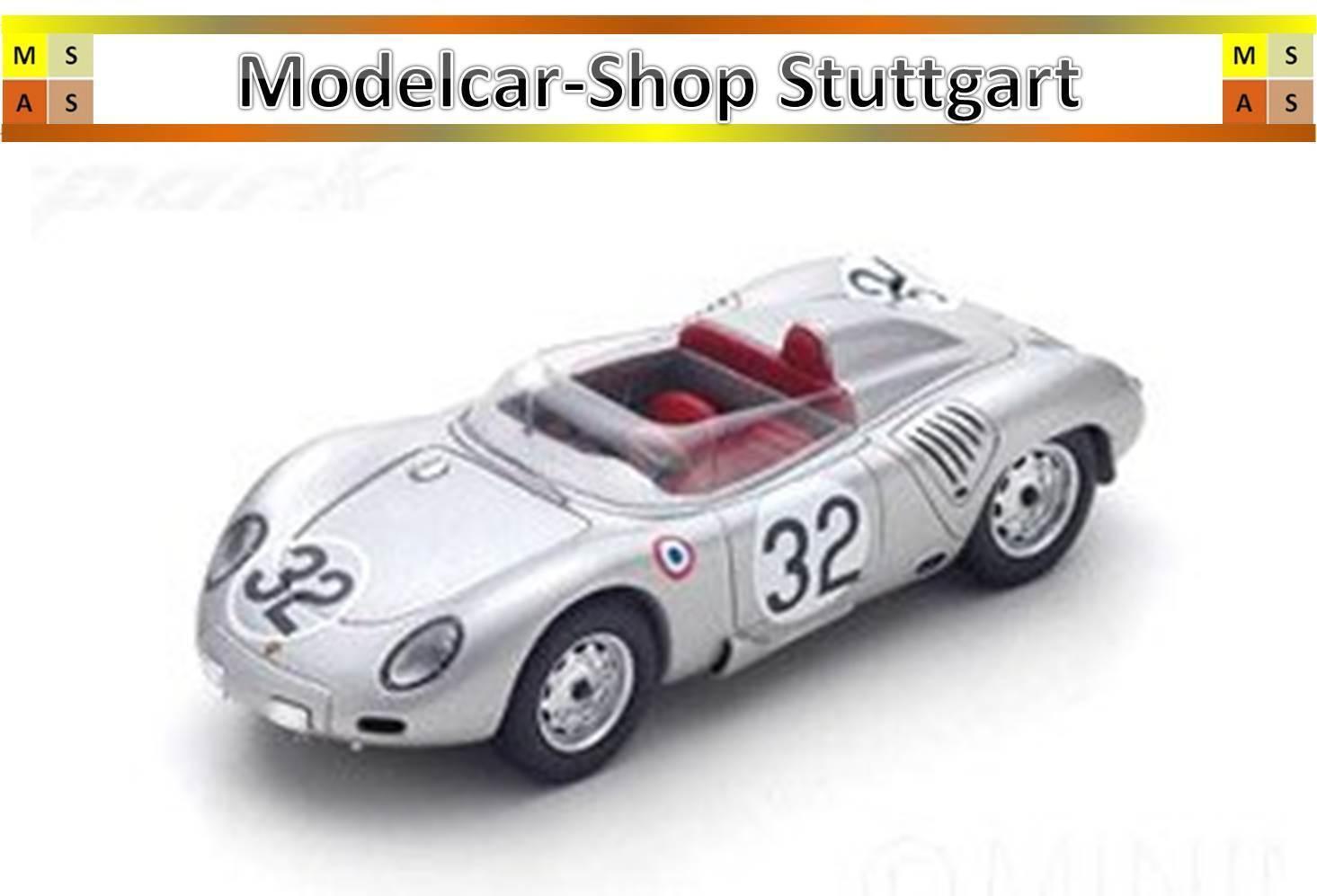 Porsche 718 Rsk No.32 Le Mans 1959 H. Herrmann - y Maglioli Spark 1 43 - S4677