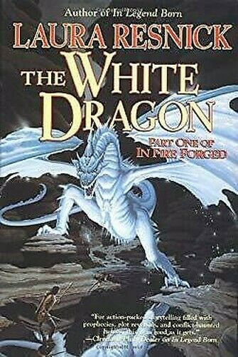 Weiß Dragon Pt. 1: IN Feuer Forged Hardcover Laura Resnick