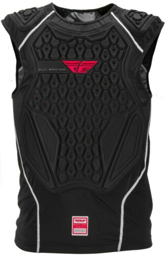 FLY RACING BARRICADE Adult Black Chest Roost Protector Under-Jersey Large//XL