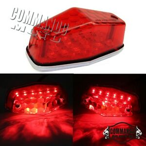 1-x-Custom-Lucas-DEL-Red-Brake-Tail-light-taillight-Universal-for-BSA-Cafe-Racer