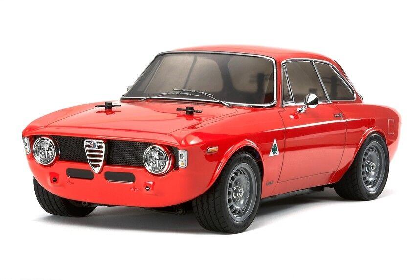 Tamiya 58486 Alfa Romeo Giulia Sprint M06 RC Kit WITH Tamiya ESC Unit Car