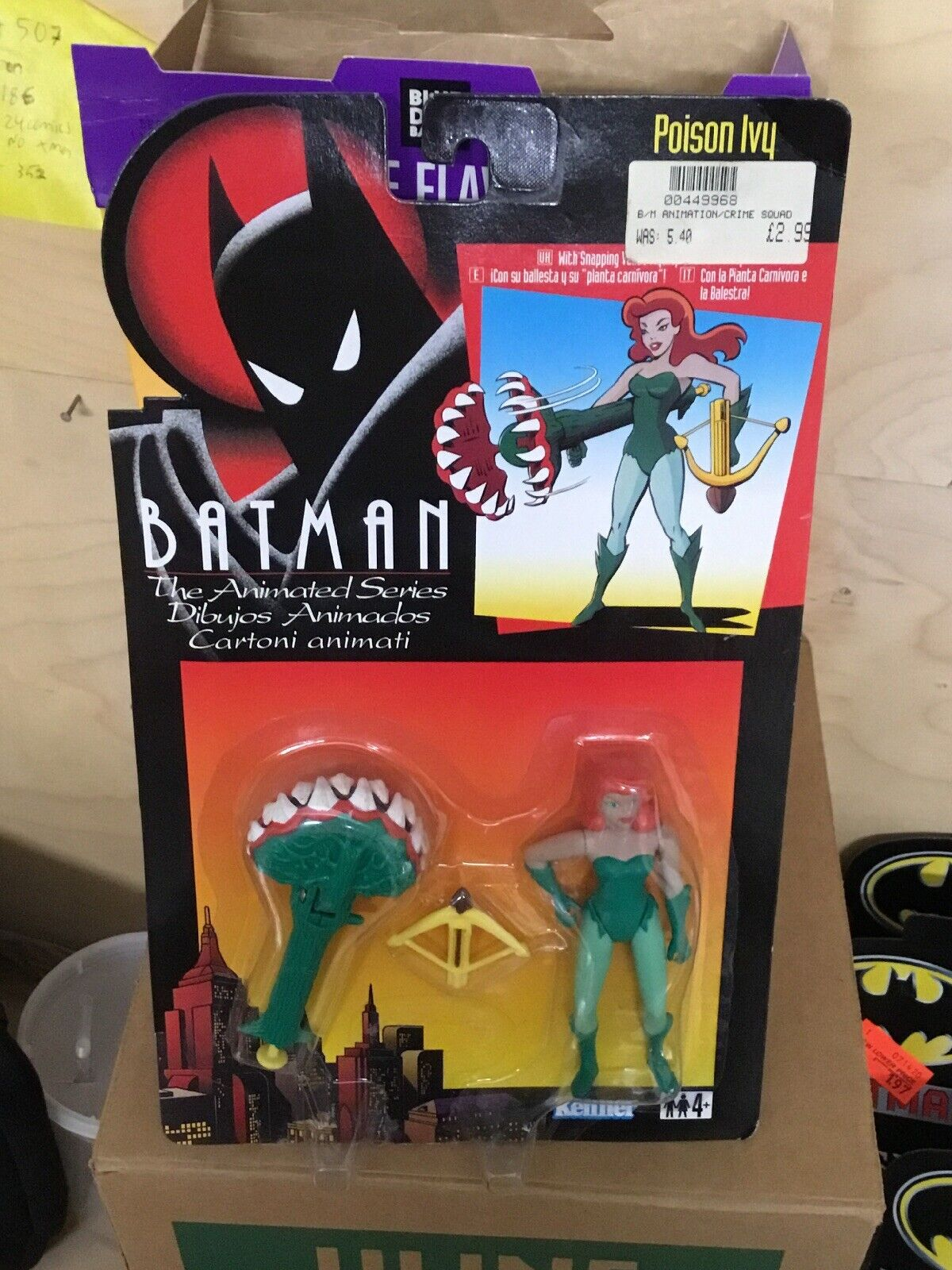 Batman The Animated Series Action Figure Poison Ivy