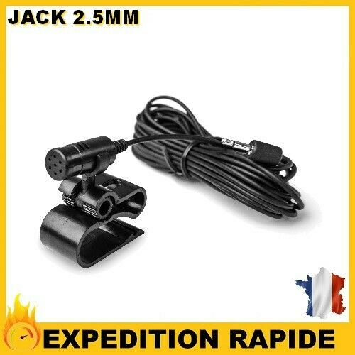Microphone pour autoradio pioneer 2.5mm jack Gamerszone®