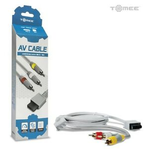 Audio-Video-AV-Composite-3-RCA-Cable-for-Nintendo-Wii-amp-Wii-U-Retail-Pack