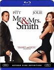 Mr. and Mrs. Smith Blu-ray 2005 US IMPORT Region a Very Good