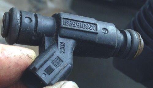 BMW Mini Cooper Uno R50 R52 conjunto de 4 válvulas de combustible inyector de gasolina 04891192AA