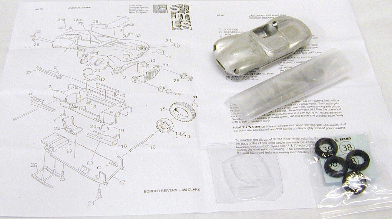 1/43 RL76 JAGUAR D TYPE Border Reivers/Jim Clark Kit by SMTS | Supérieurs Performances  | Durable En Usage  | économie