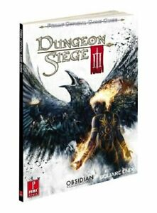 Dungeon Siege III  Prima Official Game Guide  Prima Official Game Gui