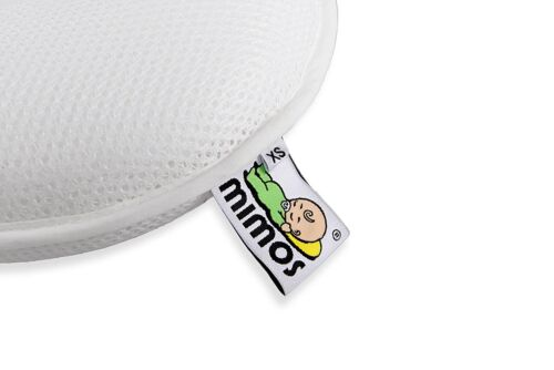 with One FREE Pillow Cover MIMOS Baby Pillow Size XS for Premature