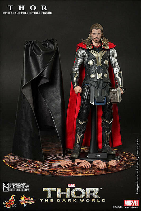 HOT TOYS THOR THE DARK WORLD 1 6 SCALE ACTION FIGURE  NEW  UNOPENED