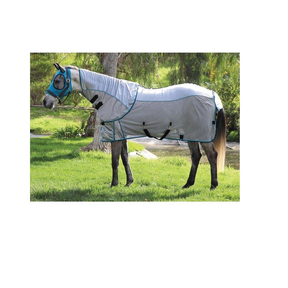 Comfortfit Fly Foglio per Cavalli Protezione Trasppirante GrigioPacific 183cm
