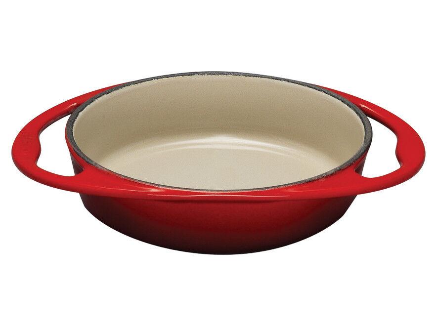 LE CREUSET Enameled Cast Iron 9-3 4 inch Tarte Tatin Dish, New