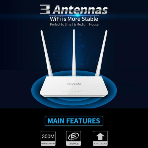Tenda F3 300Mbps Wireless WiFi Router WiFi Repeater Multi Languag Firmware House