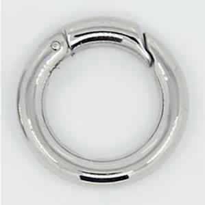 24mm Edelstahl Ring Karabiner #6158 TOP Rundkarabiner