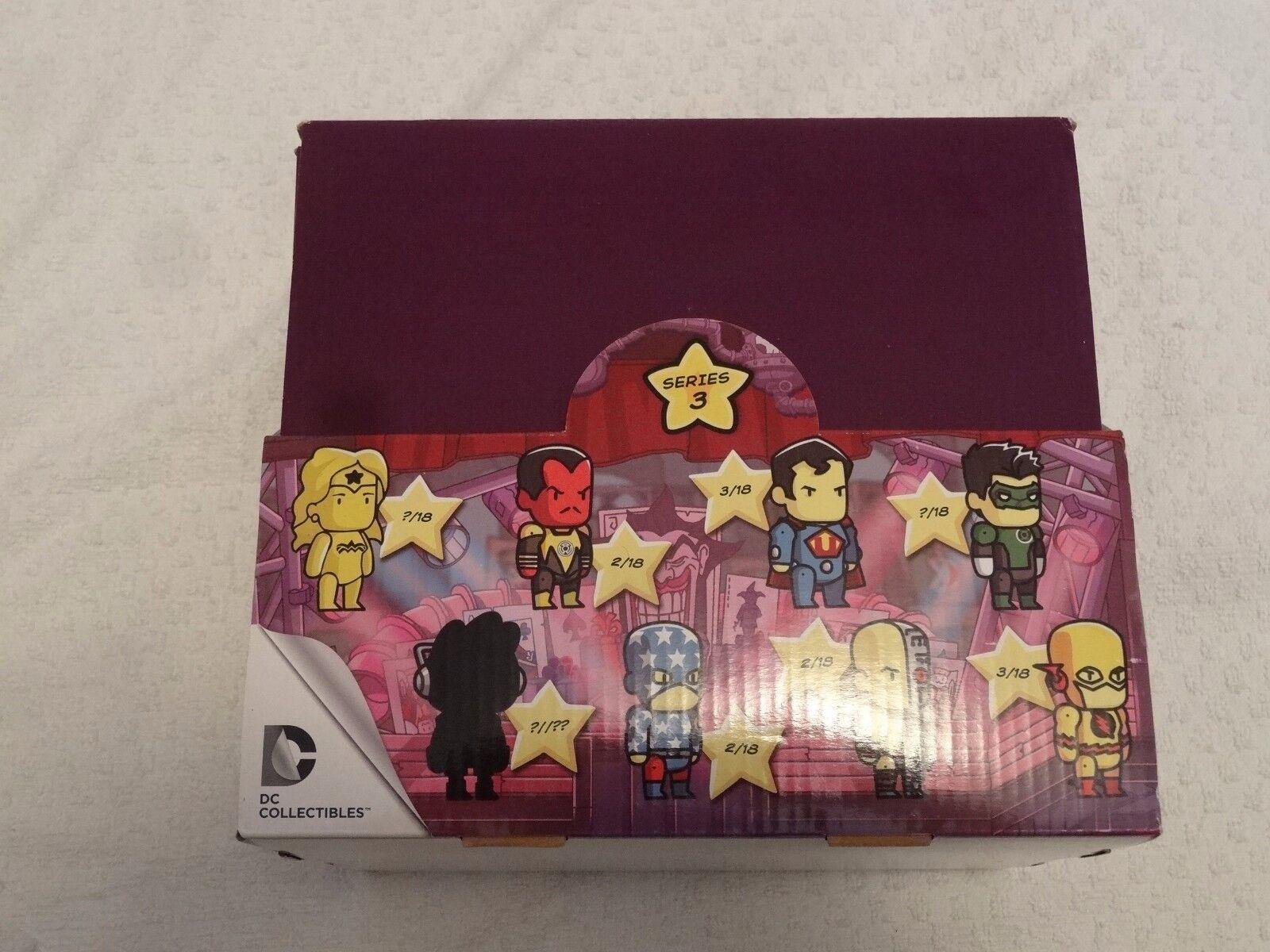 Scribblenauts Unmasked Series 3 Box of 18 Free Shipping DC Comics Adventure
