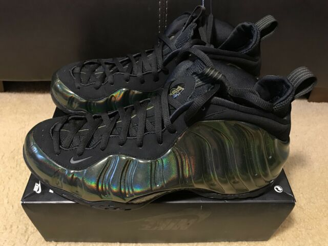 newest 28752 e83ee Nike Air Foamposite One 1 314996-301 Legion Green Black DS Size 12