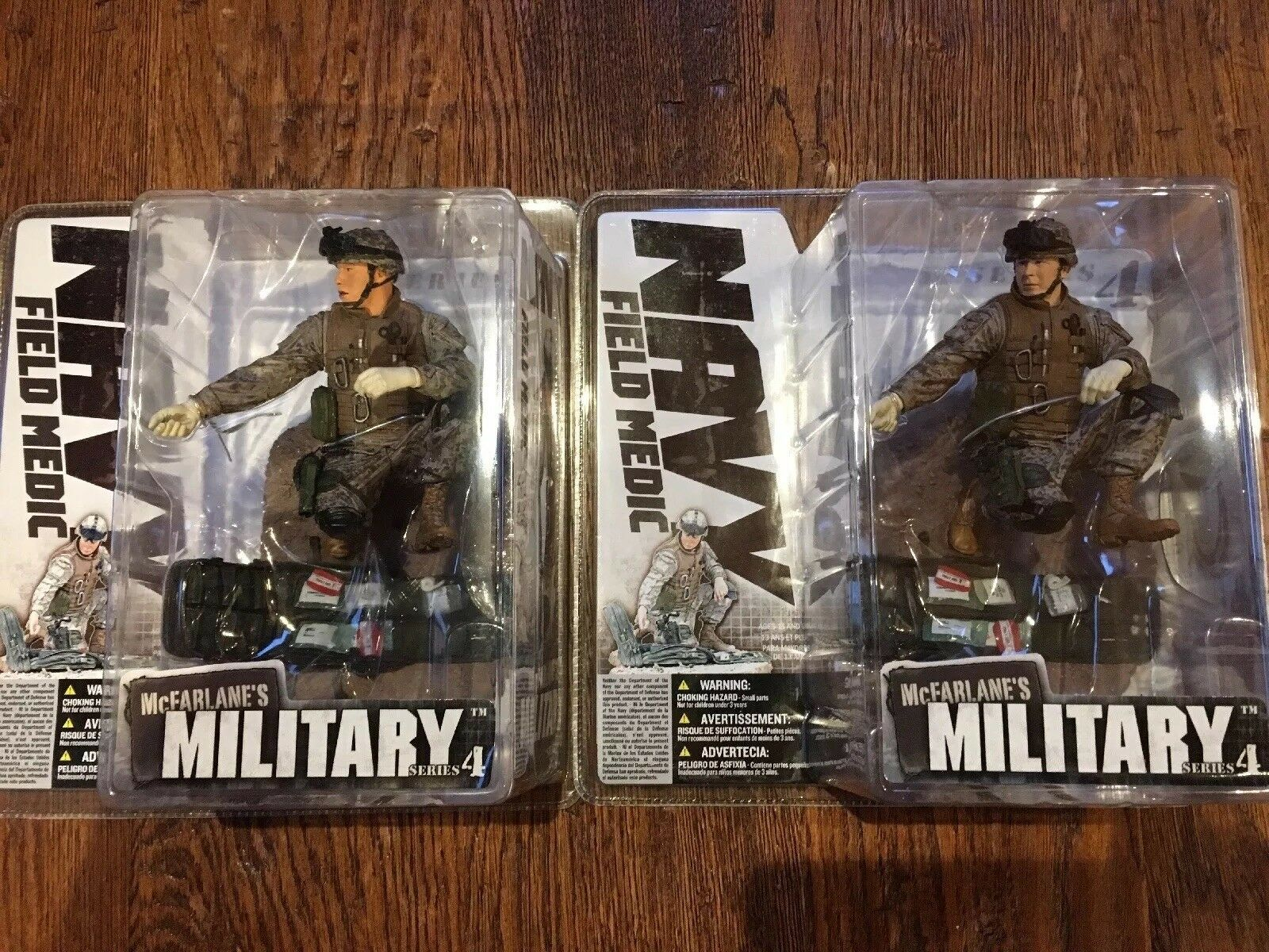 Mcfarlane Military Army Series 4 Field Navy Medic and Variant