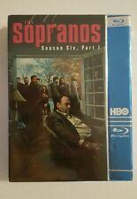 The Sopranos Season 6 Part 1 Blu Ray Brand New Sealed