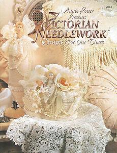 Baby Dress Crochet Pattern Victorian : Crochet Victorian Needlework crochet pattern book by Annie ...