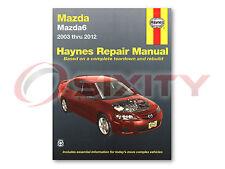 Mazda 6 Haynes Repair Manual i S Mazdaspeed Shop Service Garage Book or
