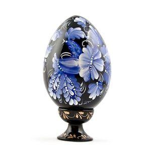 Wooden-Easter-Egg-Hand-Painted-Ukrainian-Pysanky-Pysanka-Pisanki