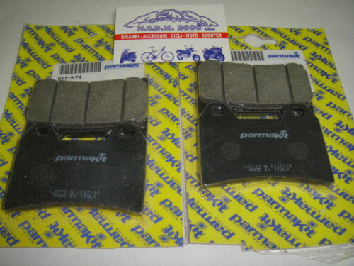 PASTIGLIE FRENO PARMAKIT ANTERIORI APRILIA 1000 RSV TUONO 4R 11 />  01115.74