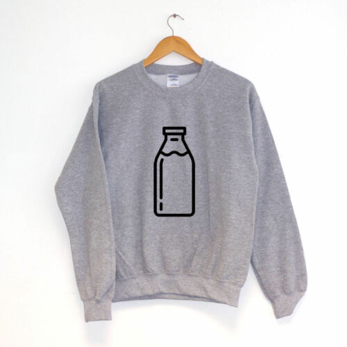 Milk BottleSWEATER SWEATSHIRT JUMPERHipster  Clothing