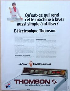 Advertising-Household-Appliances-Washer-Dryer-Thomson-IN-1981-Ref-64350