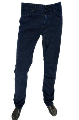 Jeans Velours Slim Hugo 50395135 Extensible Delaware3 Côtes En Boss 1 Bleu 20 5SWHnH76