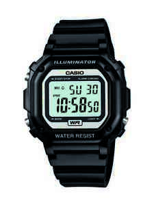 Casio-Men-039-s-Quartz-Illuminator-7-Year-Battery-Black-Resin-43mm-Watch-F108WHC-1A