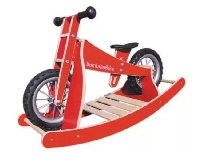 Tolles BAMBINO BIKE    ️ mit Wippe  TOP Zustand