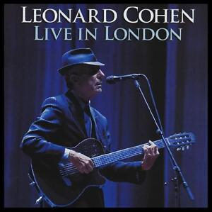 LEONARD-COHEN-2-CD-LIVE-IN-LONDON-CLASSIC-FOLK-ROCK-SUZANNE-HALLELUJAH-NEW