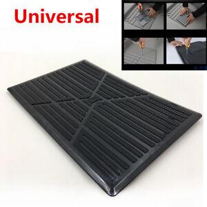1pcs Universal 25x16cm Pvc Car Floor Carpet Pad Heel Foot