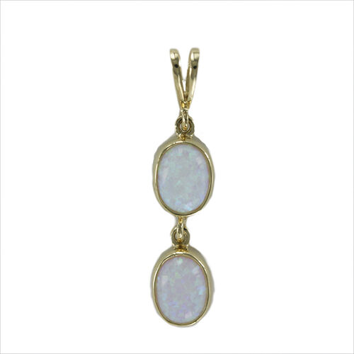 Brand New 9ct Hallmarked Yellow gold Double Drop Earrings