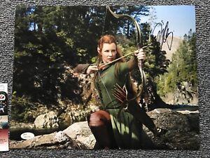 Hobbit-Evangeline-Lilly-Autographed-Signed-11x14-Photo-JSA-COA