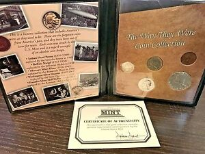 First-Commemorative-Mint-90-Silver-The-Way-They-Were-Coin-Collection