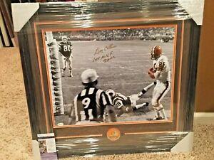 Gary Collins #86 signed Cleveland Browns NFL 16x20 FRAMED photo JSA
