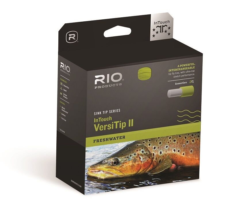 RIO InTouch VersiTip II Fly Line - WF8 - New