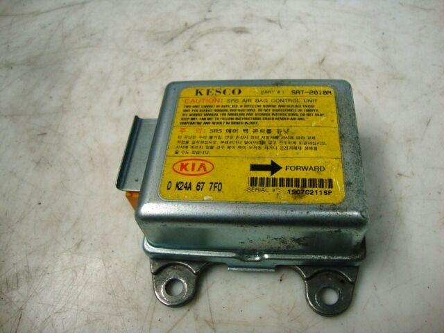 Steuergerät für Airbag Steuermodul 0K24A677F0 Kia Sephia Mod.1995 - 1997