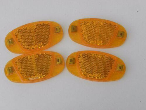 Rayons Réflecteurs rayons projecteur Chats Yeux reflektore dans le Set 4 Pièces 01816