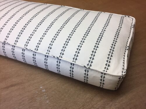 Vanessa Arbuthnott Simple Ticking Seat Pad Made To Measure, All Cols.