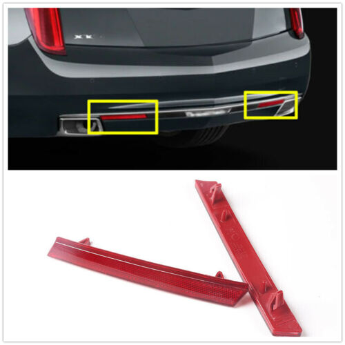 Right Side Rear Bumper Red Reflector Trim Fit For Cadillac XTS 2013-2017 Left