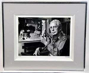 RARE-ALFRED-EISENSTAEDT-NORMAN-ROCKWELL-SIGNED-PHOTO-PHOTOGRAPH