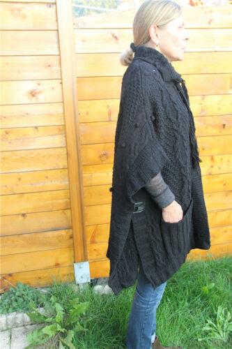 gros gilet laine noir hiver MC PLANET T 38 neuf étiquette HAUT DE GAMME val 220€